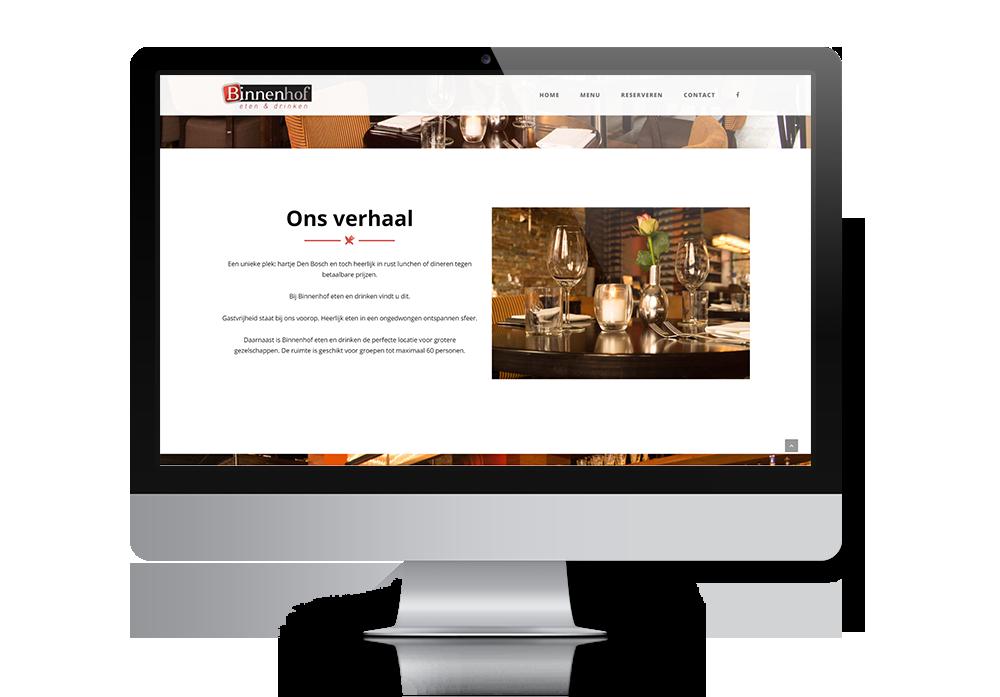 Binnenhof-Showcase